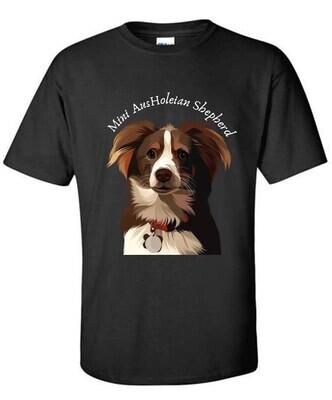 Aussie Australian Shepherd Ausholian AusHoleian Shepherd Mini AusHoleian Shepherd T Shirt Aussie Asshole shirt