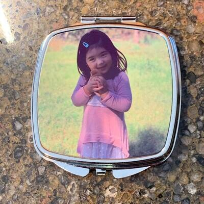 Custom photo compact mirror