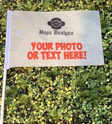 Custom Photo Handheld Flag - FREE SHIPPING!
