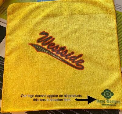 Custom logo rally towel