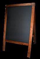 Штендер для мела деревянный, двусторонний 95 Х 60 см