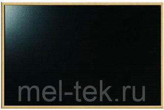 Доска для мела в деревянной рамке - 100 х 120 см