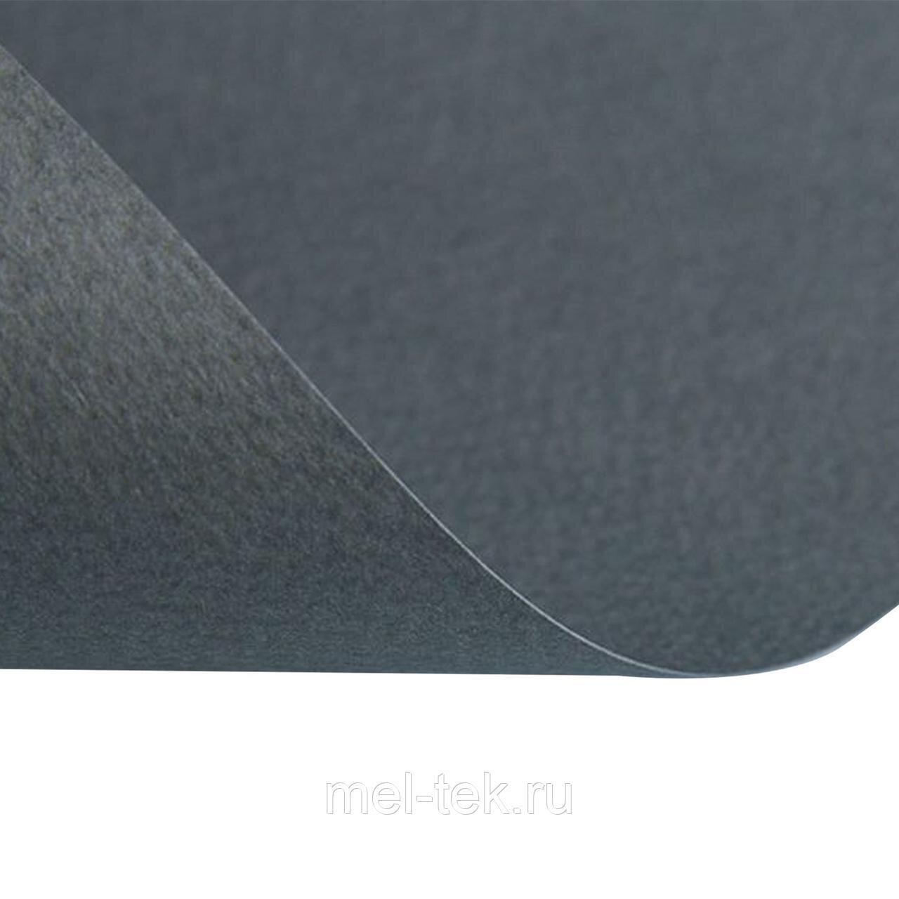 Бумага для пастели (1 лист) FABRIANO Tiziano А2+ (500х650 мм), 160 г/м2, антрацит.