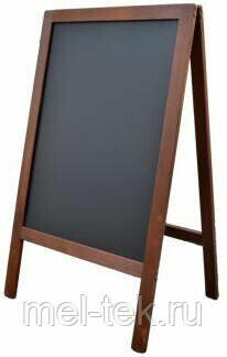 Штендер для мела деревянный, односторонний 90 х 60 см