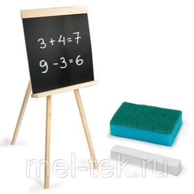Доска для мела ПИФАГОР на треноге, 42х45 см