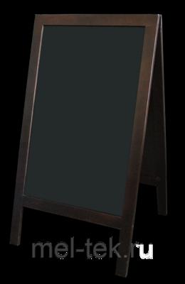 Штендер для мела деревянный, двусторонний 90 Х 60 см