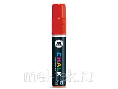 Маркер меловой MOLOTOW CHALK 15мм, красный