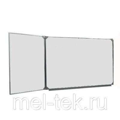 Двухэлементные доски для маркера 255 х 100 см