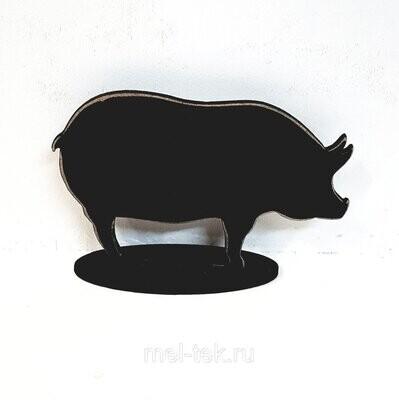 """Ценник меловой """"Свинья"""" 110 х 75 мм"""