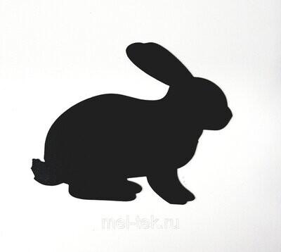"""Ценник для мела """"Кролик"""" 100 х 85 мм"""
