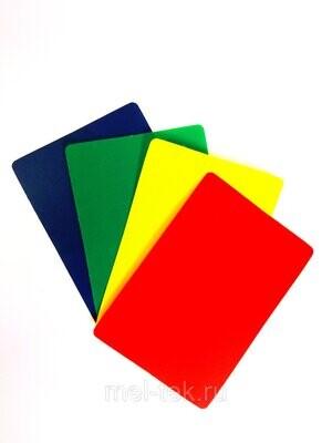 Ценник пластиковый 70 х 100 мм (цвет в ассортименте)