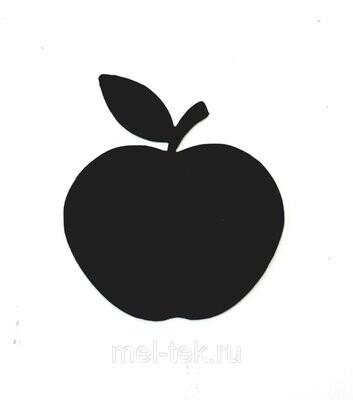 """Ценник пластиковый """"Яблоко"""" 60 х 65 мм"""