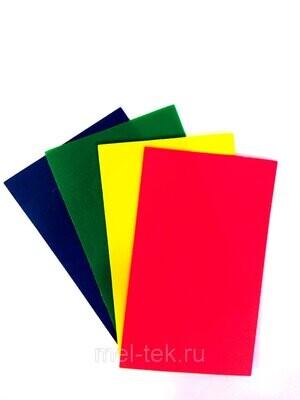 Ценник пластиковый 55 х 90 мм (цвет в ассортименте)