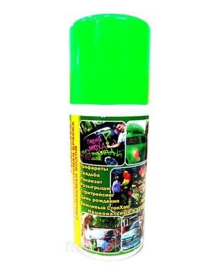 Аэрозоль на водной основе, цв. зеленый