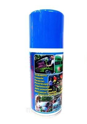Аэрозоль на водной основе, цв. голубой