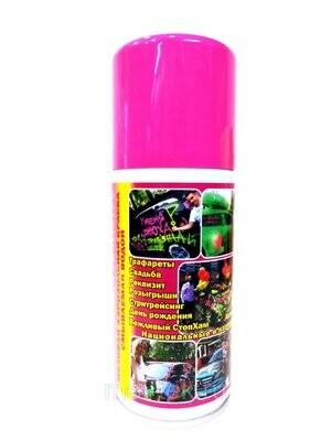 Аэрозоль на водной основе, цв. розовый