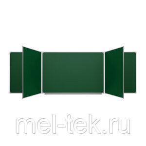Пятиэлементные доски для мела 300 х 100 см