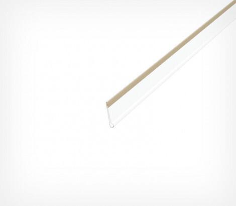 Ценникодержатель полочный самоклеящийся высотой 39 мм