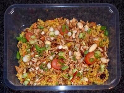 Quinoa salade met noten