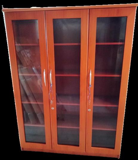 Rhea 3 Door Bookcase