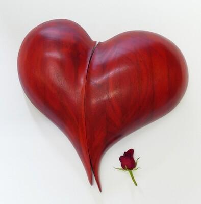 Blended Heart Wall Sculpture