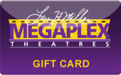 Mega Plex Theatre Card $25.00