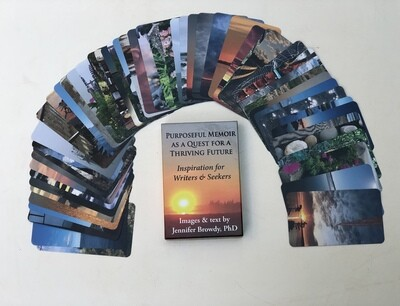 Quest Writing Prompt Cards--Set of 54 cards and images