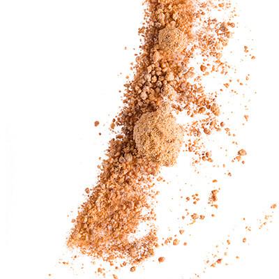 Sucre brun de canne artisanal de Madagascar, pot verre 65 g