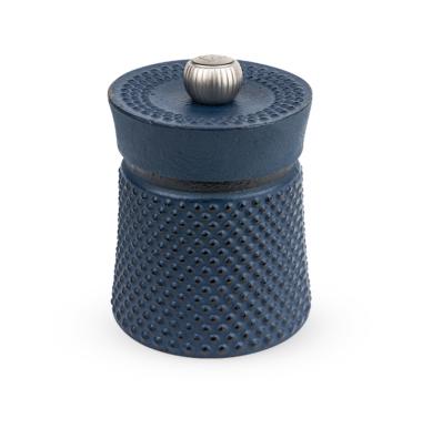 Moulin à poivre BALI 8 cm Peugeot en fonte bleu