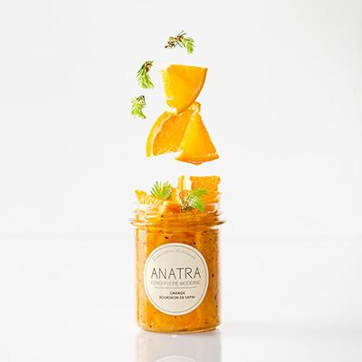 ANATRA - Confiture Orange & Bourgeons de sapin