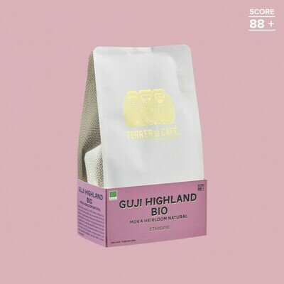GRAINS GUJI HIGHLAND HEIRLOOM NATURAL BIO - ETHIOPIE