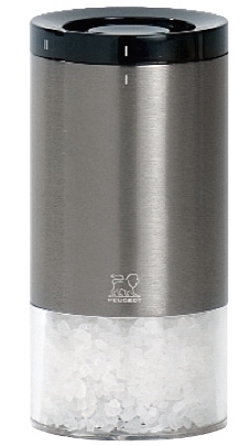 Moulin à sel Reverso 11 cm Peugeot en aluminium avec système uSelect