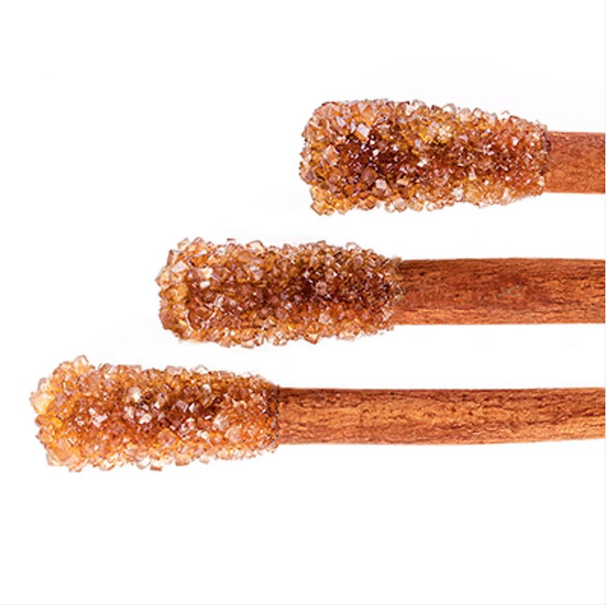Baton de cannelle enrobé de sucre candy