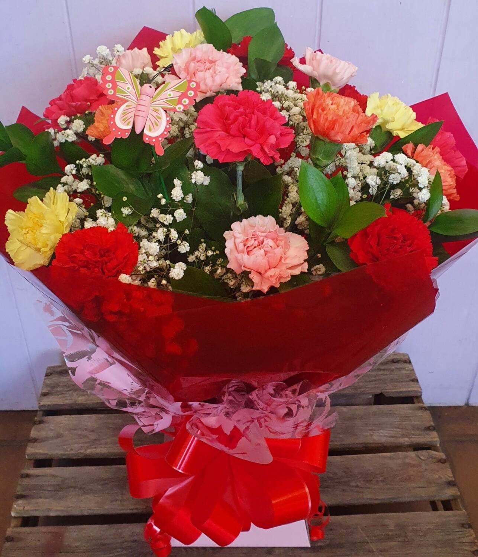 Carnation Handtied