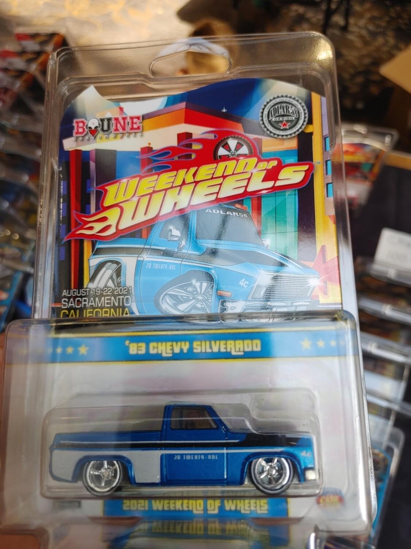 Heralda Souvenir 1983 Silverado Chase Blue 1 of 25