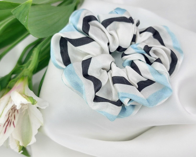 Резинка-малышка цвет полоски голубой