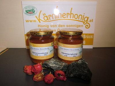 Echter Kärntner Bienenhonig Nockalmhonig, 500 g