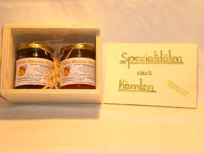 Honiggenuss- Holzkasterl 2er