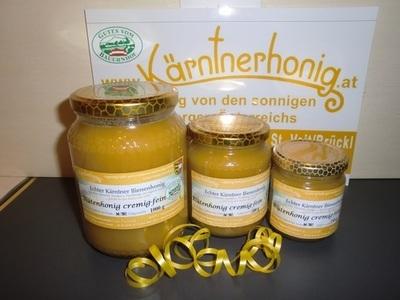Echter Kärntner Bienenhonig Cremehonig, 250 g
