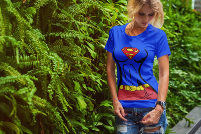 Supergirl Body Shirt