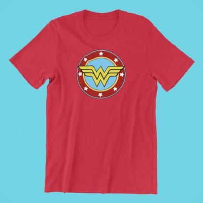 Plain Wonder Woman Shirt