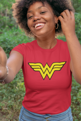 Plain Wonder Woman Shirt