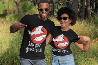 Ghost Busters Couple's Tee