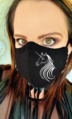 Tribal Unicorn Mask