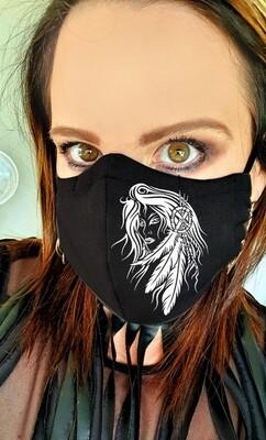 Boho Female Mask