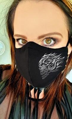 Fire Skull Mask