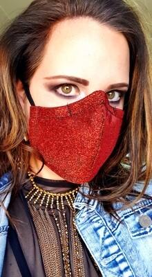 Shiny Rust Mask