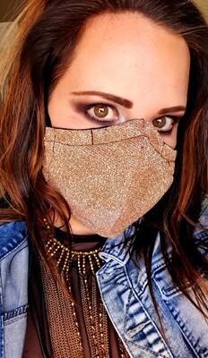 Dark Gold Mask