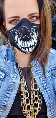 Sharp Teeth Skull Mask