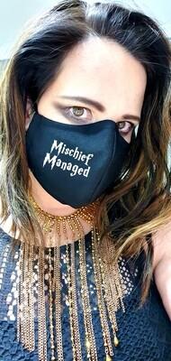 Mischief Managed Black Mask